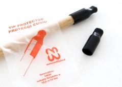 Протектор для наклейки, 12,5-13 мм (черный)
