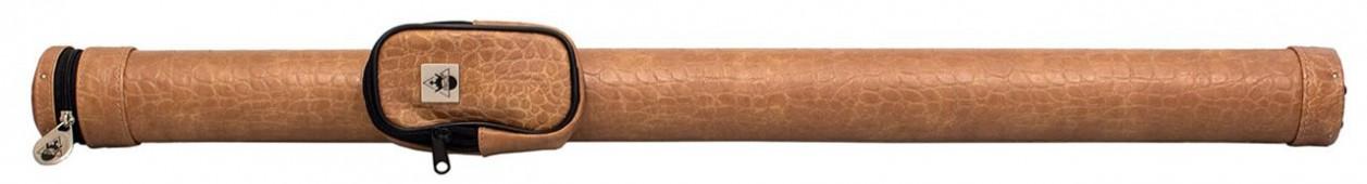 Тубус для кия (пирамида) «Action 1/1» 85 см (коричневый/кроко)