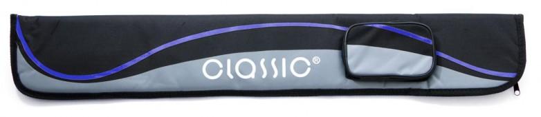 Чехол для кия «Classic Passion 2/2» (черно-синий)