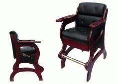 Кресло бильярдное (махагон)
