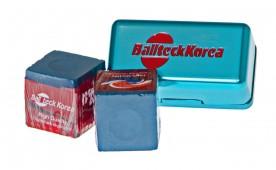 Мел «Ball teck PRO II» (2 шт, в бирюзовой металлической коробке) синий