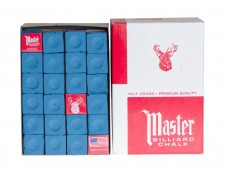 Мел «Master» (72 шт) синий