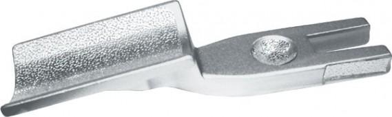 Махровка металлическая, универсальная (серебристая)