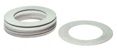Кольцо алюминиевое для шафта упаковка 10 шт. (0.4мм, н/д 25мм, в/д 16мм)