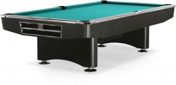 Бильярдный стол для пула «Competition» 9 ф (матово-чёрный) в комплекте, аксессуары + сукно
