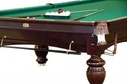 Бильярдный стол для русского бильярда «Dynamic Refinement» 12 ф (махагон)