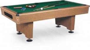 Бильярдный стол для пула «Eliminator» 8 ф (дуб) в комплекте, аксессуары + сукно