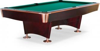 Бильярдный стол для пула «Reno» 8 ф (махагон)