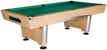 Бильярдный стол для пула «Dynamic Triumph» 7 ф (дуб) в комплекте, аксессуары + сукно