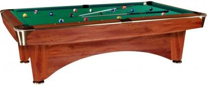 Бильярдный стол для пула «Dynamic III» 9 ф (коричневый)