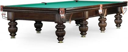 Бильярдный стол для русского бильярда «Tower» 12 ф (черный орех)