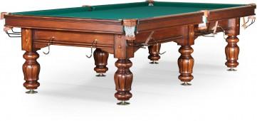 Бильярдный стол для русского бильярда «Classic II» 10 ф (орех)