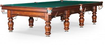 Бильярдный стол для русского бильярда «Classic II» 12 ф (орех)
