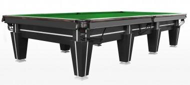 Бильярдный стол для снукера «Magnum Pro» 12 ф (черный, плита 50 мм в комплекте)