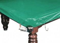 Покрывало для стола 12 ф (влагостойкое, зеленое, резинки на лузах)