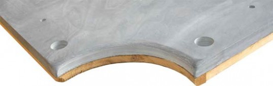 Плита «Premium-Quality Rasson» 7 ф (25 мм, 3-pc) пул, с подложкой