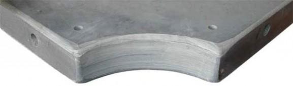 Плита «Standard-Quality» 12 ф (45 мм, 5-pc) пирамида / снукер