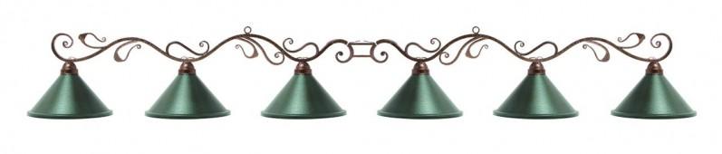 Лампа на шесть плафонов «Антик»