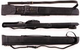 Тубус для кия «Классик» (натуральная кожа, черный)