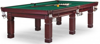 Бильярдный стол для русского бильярда «Техаs» 9 ф (махагон) ЛДСП