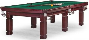 Бильярдный стол для русского бильярда «Texas» 10 ф (махагон)