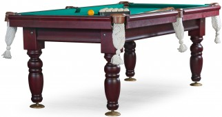 Бильярдный стол для русского бильярда «Дебют» 7 ф (махагон) ЛДСП