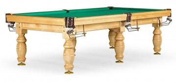 Бильярдный стол для русского бильярда «Дебют» 9 ф (светлый)