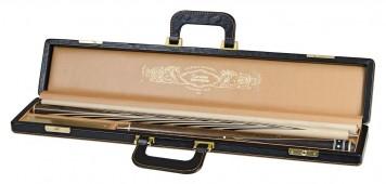 Кий для русского бильярда 3-pc наборный «Монферран» (граб, черный граб, бокоте) в кейсе