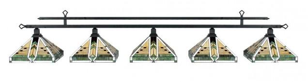 """Лампа на пять плафонов """"Taliesin"""""""